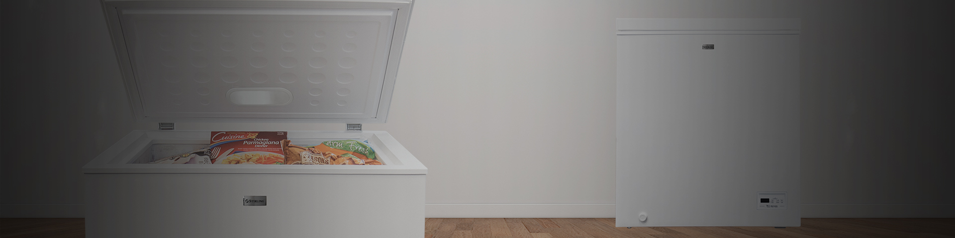 145L Chest Freezer - Banner - blank